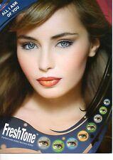 Lentilles de couleur FRESHTONE Cosmetic lenses * Vendeur Français * 1 year