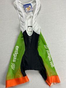 NWT Erdgas Nortes High Performance Cycling Bibs Men's Size S Bike Tights Shorts