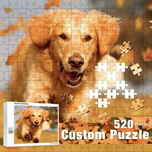 Personalized Puzzle Picture Customize Yourself Wooden Photo Puzzle Toy Game Gift