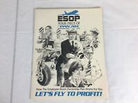 Vintage Pan Am Airlines Employee Stock Booklet ESOP Lets Fly To Profit