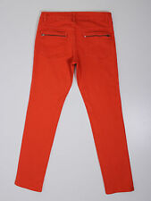 H&M Divided womens size 14 reg 32leg skinny fit red jeans (W4115)