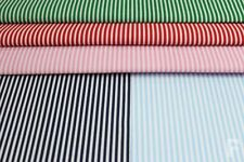 Unbranded Polycotton Striped Craft Fabrics