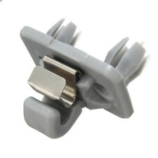 Gray Interior Sun Visor Hook Clip Bracket For 04-16 Audi A1 A3 A4 8E0 857 562A