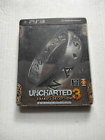 Uncharted 3 Drake's Deception Steelbook Edition PS3 Chinese English Pre-Owned