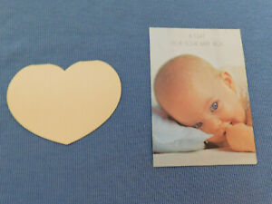 """NEW VINTAGE  """"A GIFT FOR YOUR BABY BOY"""" + ANOTHER CARD"""