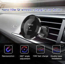 10W Qi Car Wireless Fast Charger Cell Phone Charging Holder For iPhone Samsung