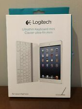 Logitech Wireless Ultrathin Keyboard Cover for iPad mini 920-005106 - White