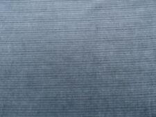 Designer Narrow Stripe Blue Chenille Upholstery Fabric $12.99/Yd Bty 439Fs