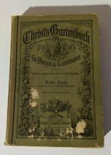 Lucas: Christ's Gartenbuch, 1895