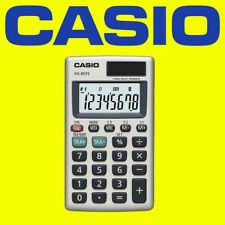 Casio - HS85TE Pocket Calculator With Tax & Exchange Calculations NEW