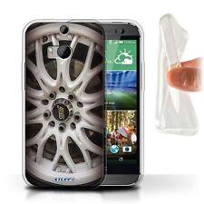 Étuis, housses et coques blancs HTC One M8 en silicone, caoutchouc, gel pour téléphone mobile et assistant personnel (PDA)