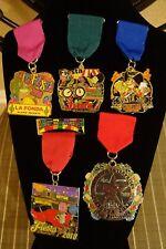 ( 5 )  2018,2017 San Antonio Jim's Fiesta Medals