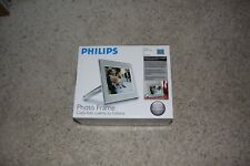 "Philips 9"" Digital Metal Photo Frame, Brushed Steel - 9FF2CME  -  Brand New"