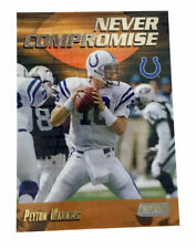 1999 Stadium Club - Never Compromise #NC12 Peyton Manning Indianapolis Colts