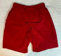 Lululemon Mens Red Matrix Pacebreaker Linerless Yoga Swim Gym Shorts - Small S