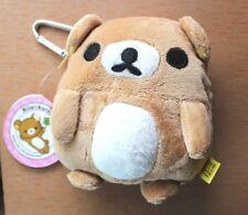 US Japan San-X Rilakkuma Relax Bear Plush Coin Purse bag soft Case Cute Kawaii
