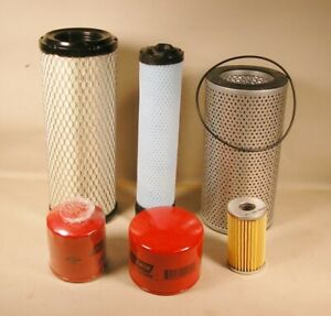 TAKEUCHI TB135 EXCAVATOR ANNUAL FILTER KIT  FOR S/N 13514050 AND UP