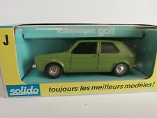 SOLIDO VOLKSWAGEN GOLF I SCALA 1/43
