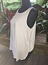 Supre Ladies Size 10 White Sleeveless Top - Brand New with Tags!