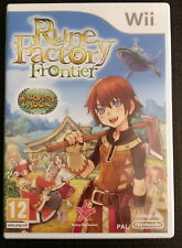 Rune Factory Frontier Wii - Mint condition - PAL