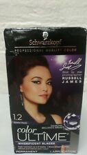 Schwarzkopf Ultime 1.2 Scarlet Black Hair Color Cream Dye Read!