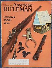 Magazine American Rifleman, NOVEMBER 1978 !!! SAVAGE/ANSCHUTZ Mark 12 RIFLE !!!