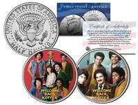 WELCOME BACK KOTTER * TV SHOW * JFK Half Dollar 2-Coin Set Gabe Kaplan Horshak