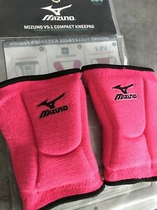GENOUILLERES Volley-ball Compact MIZUNO FEMME Rose M - VS1 Compact Knee PAD