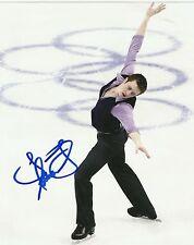 USA JEREMY ABBOTT  Signed 8x10  2014 Sochi Olympic Gold Medal Winner?