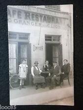 Carte photo à situer : Café restaurant G. Granger suc. de C. Lion - Comptoir