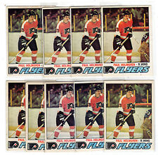 1X PAUL HOLMGREN 1977-78 OPC #307 RC Rookie EX-EXNM O Pee Chee Lots Available