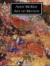 Andy McKee Art of Motion Sheet Music Guitar Tablature Book NEW 000691942