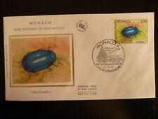 MONACO PREMIER JOUR FDC YVERT 1571   CHRYSOMELE    3F   MONACO   1987