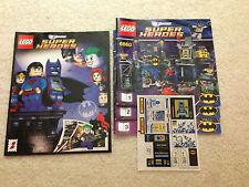 Lego NEW 6860 Batman Batcave Instructions + Sticker Set + Comic ONLY