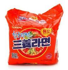 Korean Instant Noodle SAMYANG RAMYUN ORIGINAL 5pack Set Mild Taste