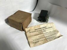 1953-1966 CHRYSLER DESOTO DODGE TRUCK HUDSON PACKARD NOS 12V VOLTAGE REGULATOR