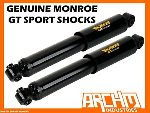MONROE GT SPORT REAR LOWERED SHORT STROKE SHOCKS FOR FORD FALCON FG SEDAN 08-ON