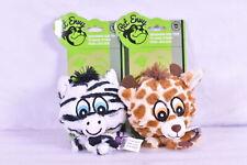 Pet Envy Knobby Noggins Safari Giraffe & Zebra Dog Toys