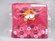 "Evangelion & Hello Kitty collaboration goods cute cushion ""Asuka Style Kitty"""