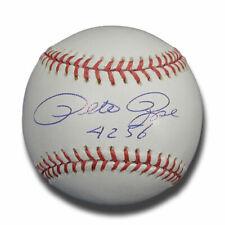 PETE ROSE SIGNED BASEBALL CINCINNATI REDS GAI MM 4256