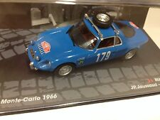 1/43 MATRA DJET V RALLYE MONTE CARLO 1966 JAUSSAUD-PESCAROLO IXO RALLY CAR