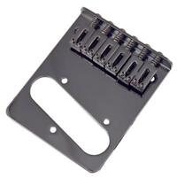 NEW Bridge TELECASTER PU single 6 saddles black pour guitare Fender TELE