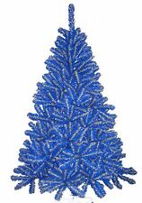 Denver Nuggets Blue & Yellow 6FT Christmas Tree, Team Colored Spirit Tree, NBA