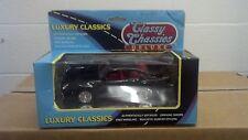 Porsche 959 Luxury Classic Die-Cast Metal Black New 1:24 Vintage Classy Chassies