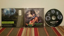 Batman Forever  Music from the motion picture Music cd Case-disc & insert