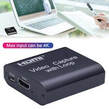 HDMI Video Game Capture Card Videoaufnahme USB2.0 Für Switch Ps4 Netzklasse Xbox