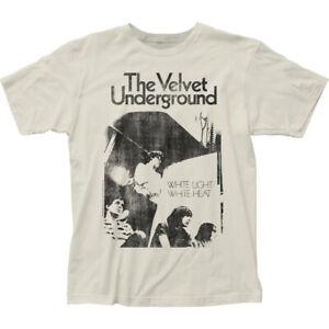 Velvet Underground White Light T Shirt Mens Licensed Rock N Roll Vintage White