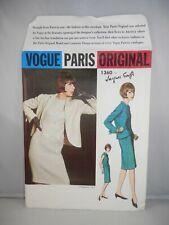Jacques Griffe VOGUE PARIS ORIGINAL PATTERN 1360 Dress Jacket Size 12