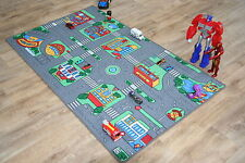 Grandi bambini Highway strade 94 cm X 164cm Kids AUTO TRACK RACING PLAY MAT