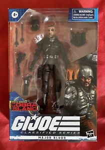 New GIJOE Classified Series MAJOR BLUDD Cobra Island Target Exclusive In Hand